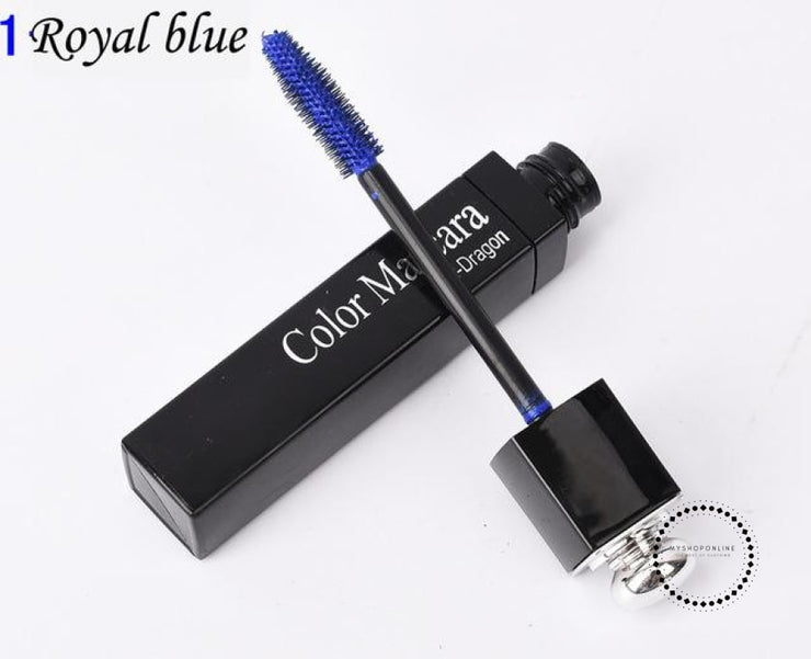 Popfeel New 8 Color Mascara Makeup Women Make Up Cosmetic Royal Blue Accesorios
