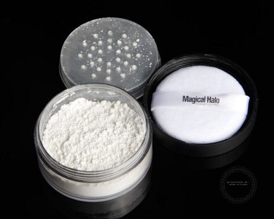 Powder Makeup Transparent Finishing Waterproof Cosmetic Puff For Face Finish Setting With 01