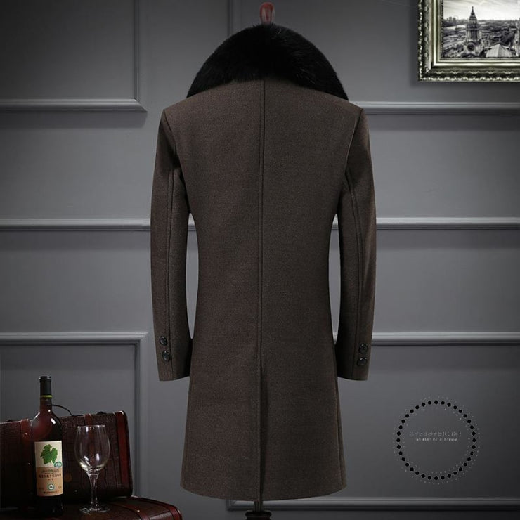 Premium Brand Keep Warm In Winter Long Cashmere Jackets Accesorios