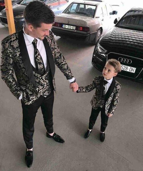 High Quality Men Suits Three Pieces Beach Groomsmen Formal Wedding Tuxedos For Men Peaked Lapel Cheap Prom Suits