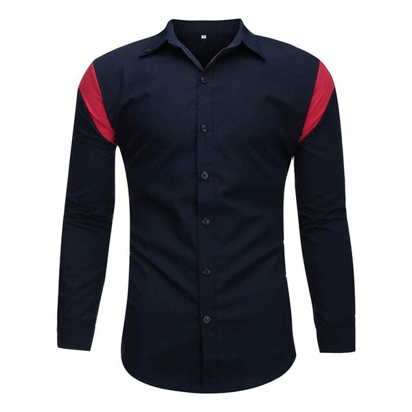 Fashion Brand Designer Shirt Men Striped Top Grade Slim Fit Streetwear Long Sleeve Workout Japanese Casual Men Clothes