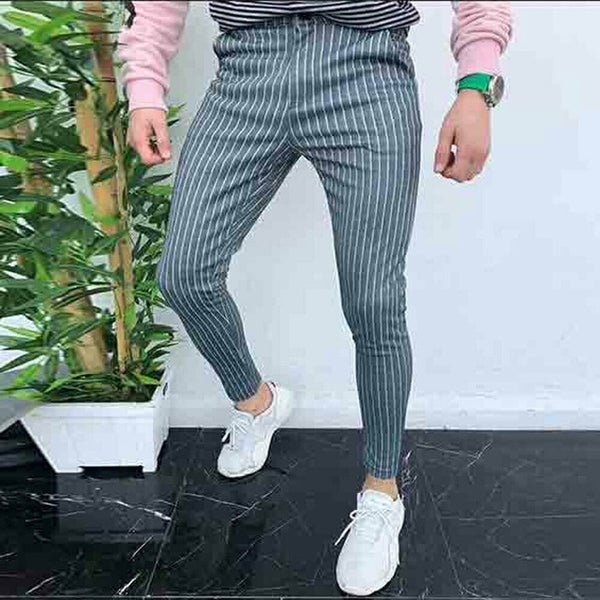New trendy Fashion Mens Joggers Slim Fits Casual Pants Trousers Sweatpants Gym Suit Sport Gym Skinny Office Skinny Trousers