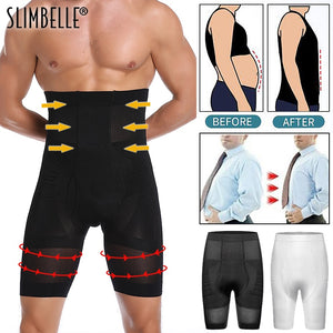 Men Body Shaper Waist Trainer Slimming Control Panties Male Modeling Shapewear Compression Shapers Strong Underwear