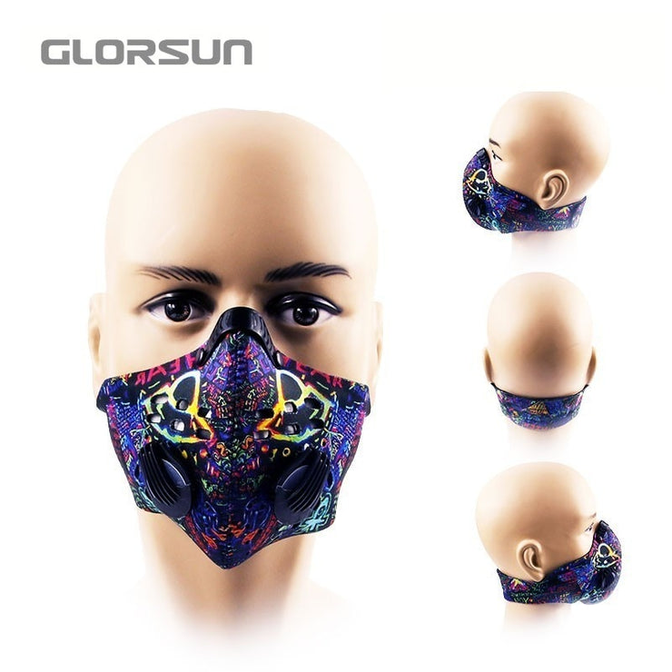 coronavirus Anti Dust Mask for Mouth  pm2.5 Dust Respirator Wholesale Breath  anti odor pollution running sports latest news from Covid-19