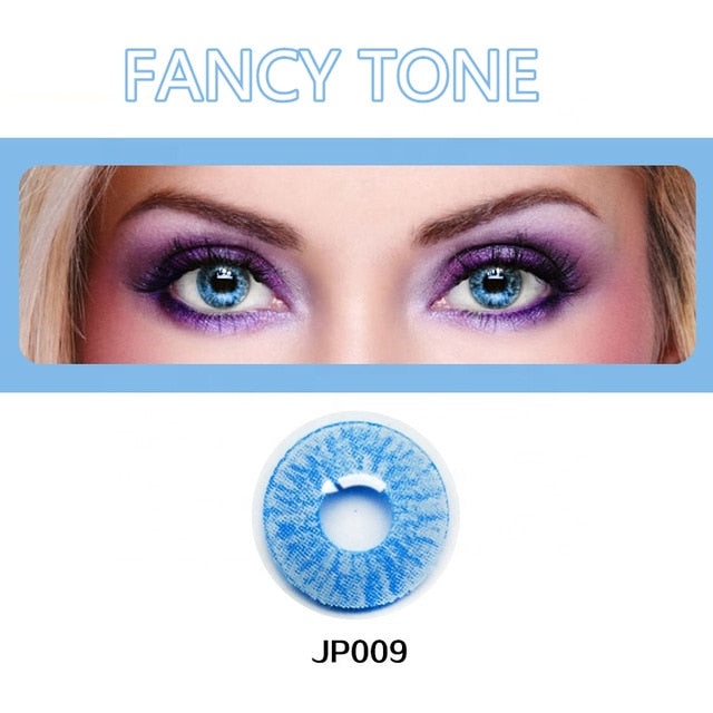 1 Pair(2pcs) Radiation Halloween Contacts Crazy Contact Lens for cosplay Cosmetic Contacts Lenses Eye Colored Contact Lenses