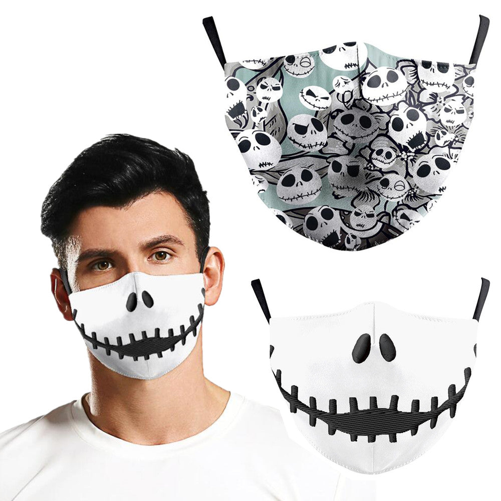 The Nightmare Before Christmas Jack Skellington Face Mask Cosplay Adul Myshoponline Com