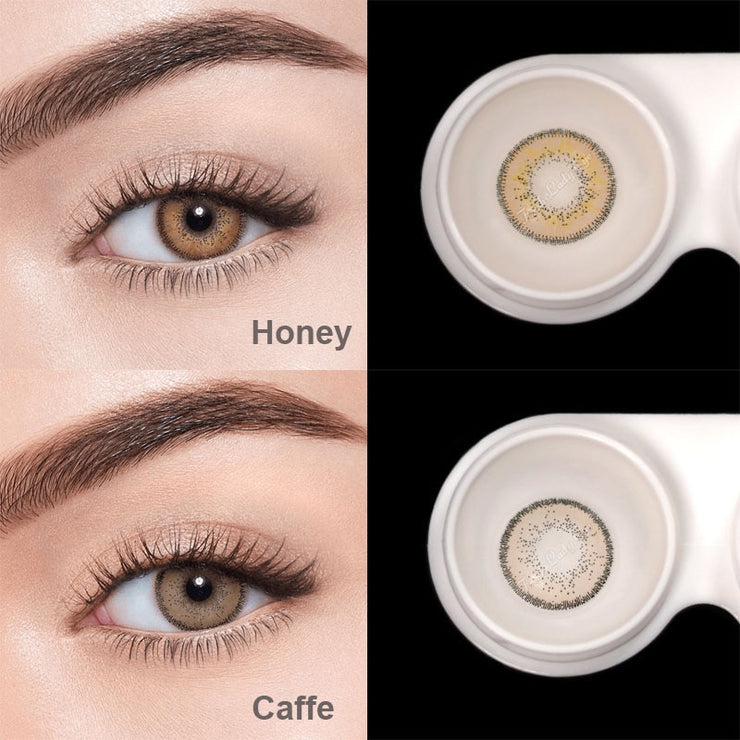 Fresh Lady 2pcs/pair Colored Contact Lenses Eye Athena Seriers Year Toss Contact Lenses Color Cosmetic Contact Lens for Eyes