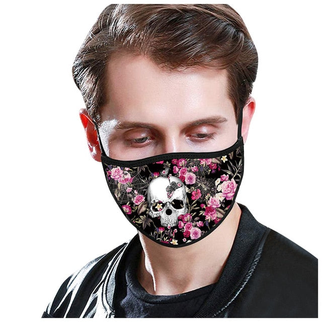 Masks Face Mask Scarf mascarillas mascarilla Unisex Dustproof Windproof Washable Face Mask Outdoor mascarar Masks masque