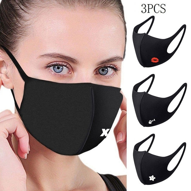 Face Mask Scarf Top mascarilla Unisex Adjustable Windproof Reusable Butterfly Printed Masks For Germ Protection Cubrebocas