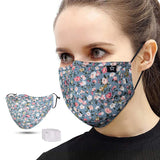 Mascarillas Scarf Masque Unisex Washable and Reusable Mouth Face Warm Windproof Cotton Face Product máscara mascherine mask for