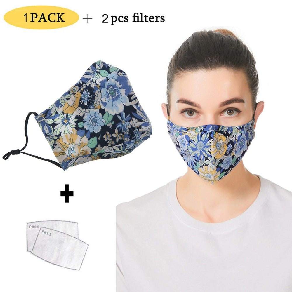 Mascarillas mask for face Scarf masque Adult Letter Dustproof Windproof Foggy Haze PM2.5 Mask With Mask Gasket Face máscara