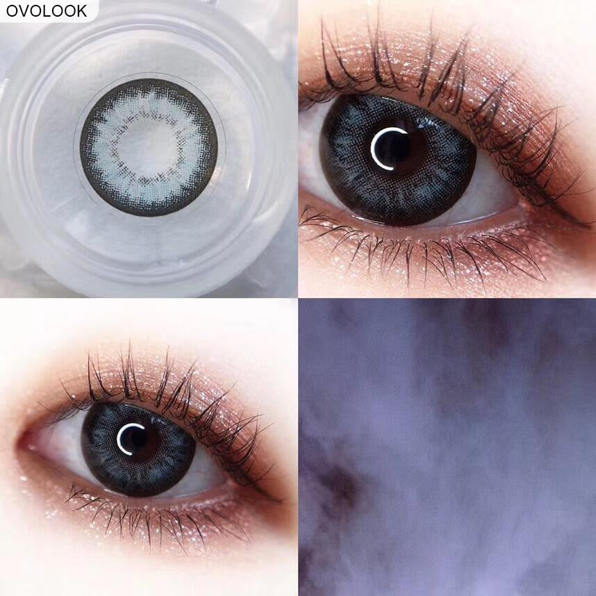 Ovolook 2pcs Pair Color Contact Lenses For Eyes Colored Colored Eye Le Myshoponline Com