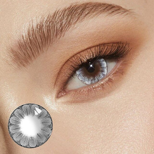 Taoqihou Big Plum Hot Sale Color Contact Lens Soft Colored Yearly Circle Eye Contact Lenses