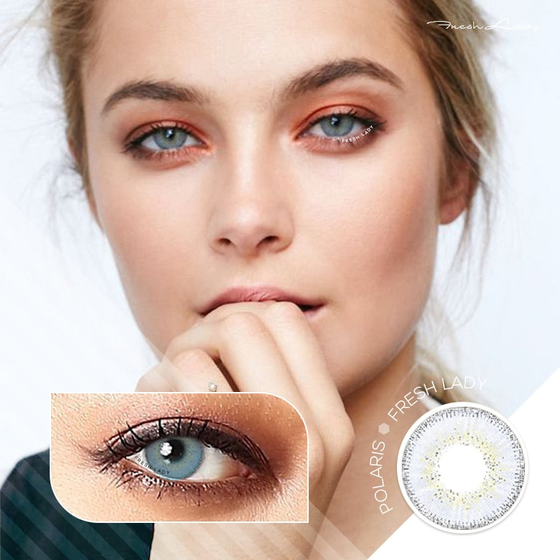 Fresh Lady 2pcs Dream Series Colored Contact Lenses Eye Natural Contact Lenses Color Contact Lens for Eye lentes de contacto