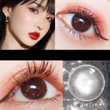 Gorgeous Colored Contact Lenses With Beautiful Large Diameter Natural Lenses
