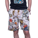 Summer Casual Shorts Men Trousers Male Camouflage Fashion Flowers Print Straight Short Beach Mens Short free shipping