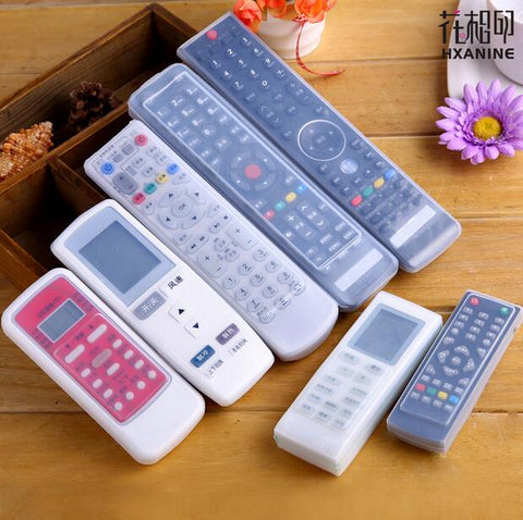 Silicone TV Remote Control Case Cover Video AC Air Condition Dust Protect Storage Bag Anti-dust Waterproof