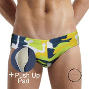 Push Up Swimwear Men Camouflage - myshoponline.com