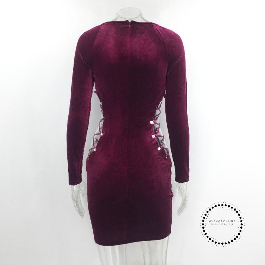 Red Dress For Women Accessoires Mujer