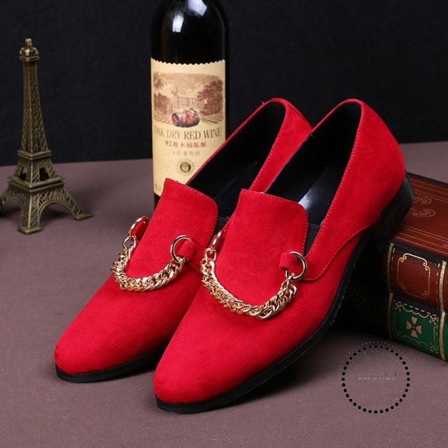 Red Wedding Shoes Accesorios