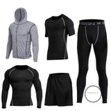 Running Sets Mens Sportswear Gym Clothing 11 / S Accesorios