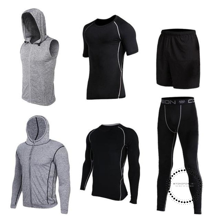 Running Sets Mens Sportswear Gym Clothing 14 / S Accesorios