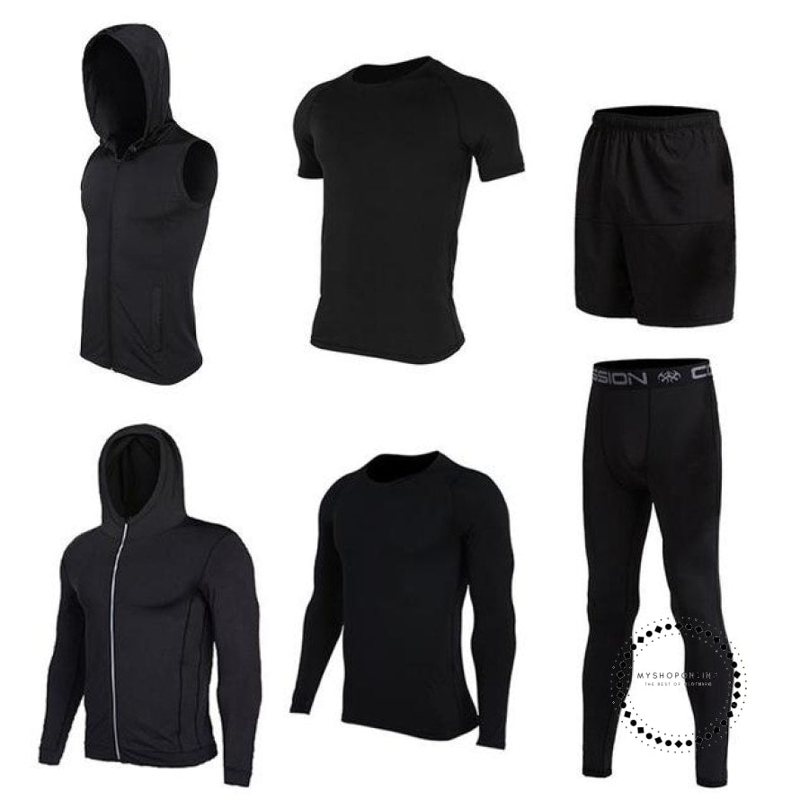 Running Sets Mens Sportswear Gym Clothing 15 / S Accesorios