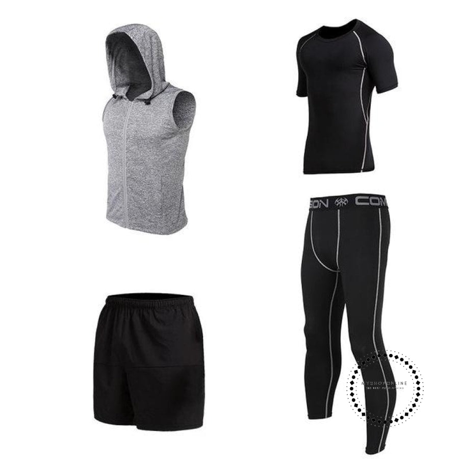 Running Sets Mens Sportswear Gym Clothing 16 / S Accesorios