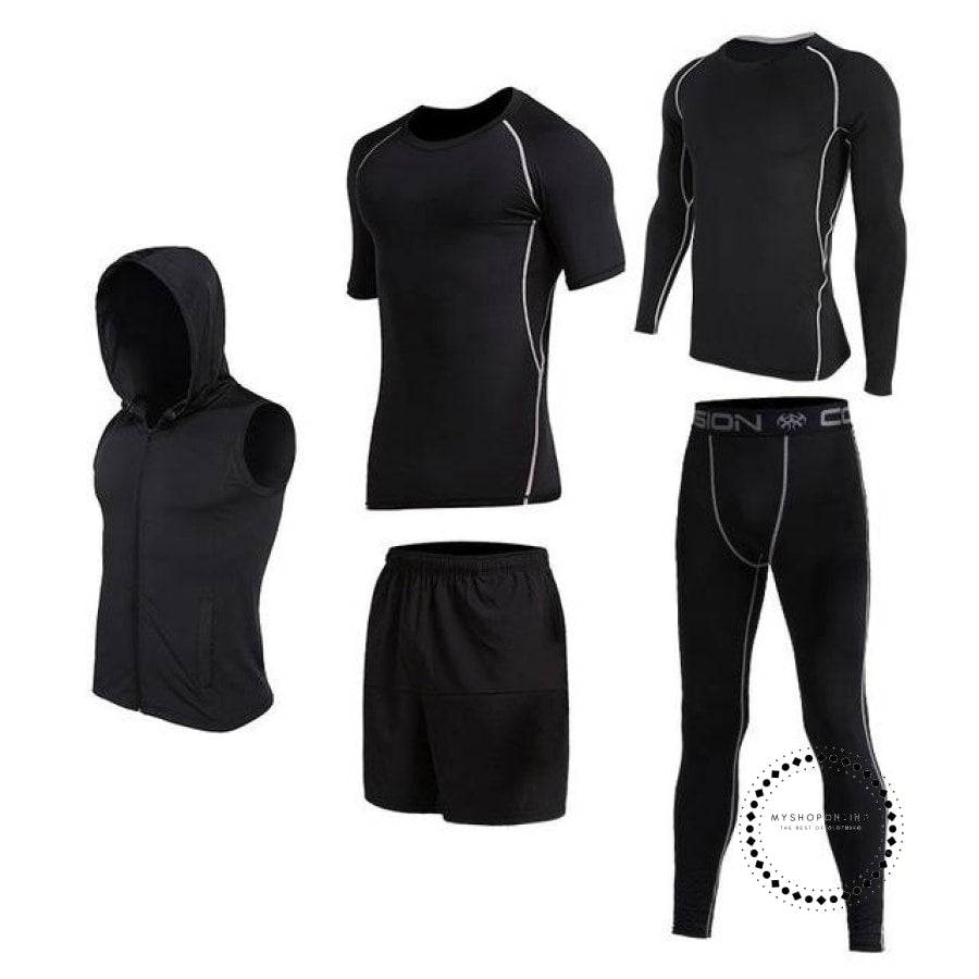 Running Sets Mens Sportswear Gym Clothing 18 / S Accesorios