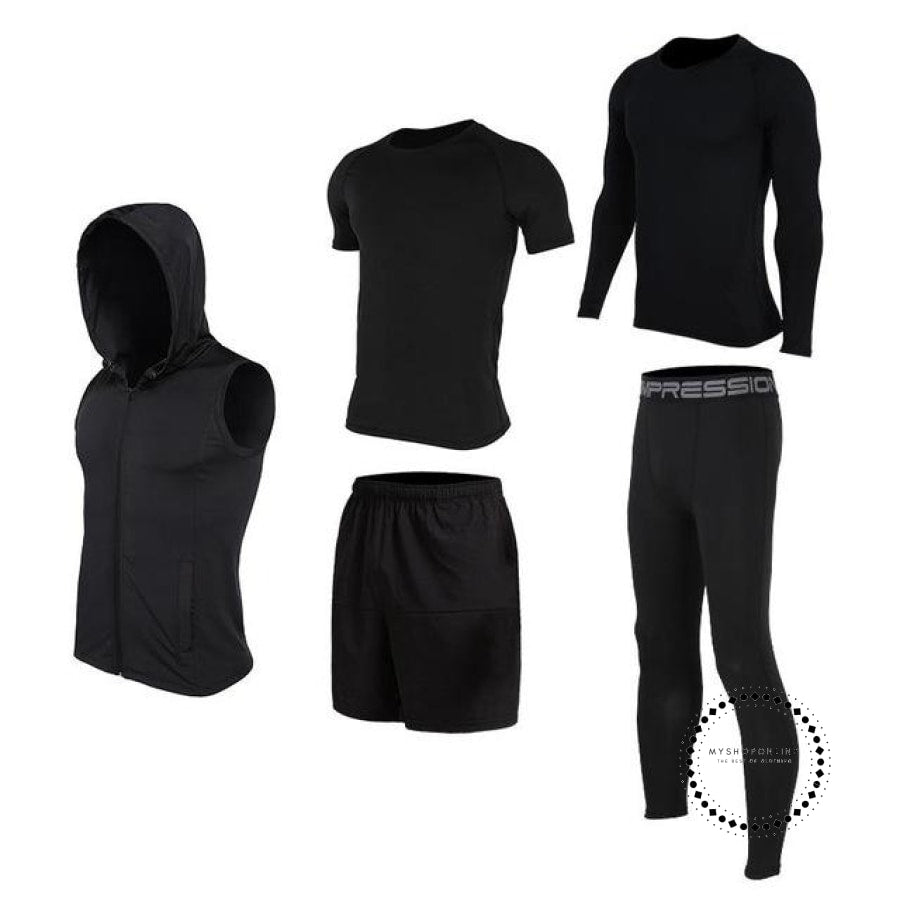 Running Sets Mens Sportswear Gym Clothing 20 / S Accesorios