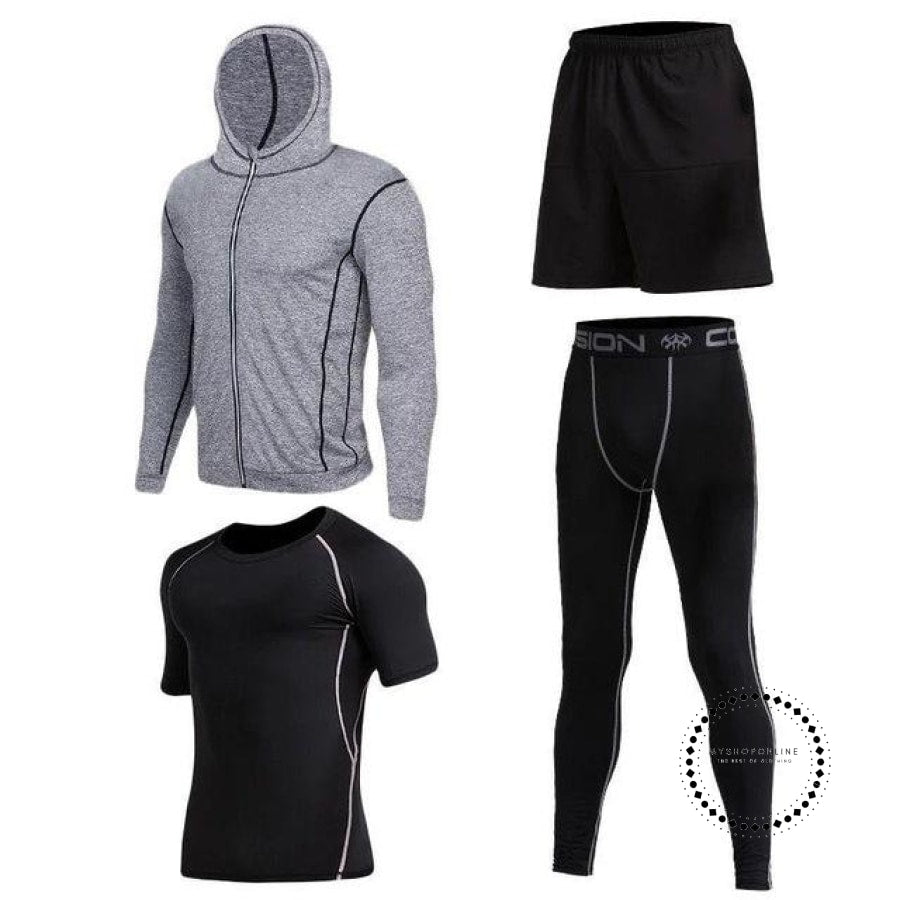 Running Sets Mens Sportswear Gym Clothing 7 / S Accesorios
