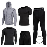 Running Sets Mens Sportswear Gym Clothing 8 / S Accesorios