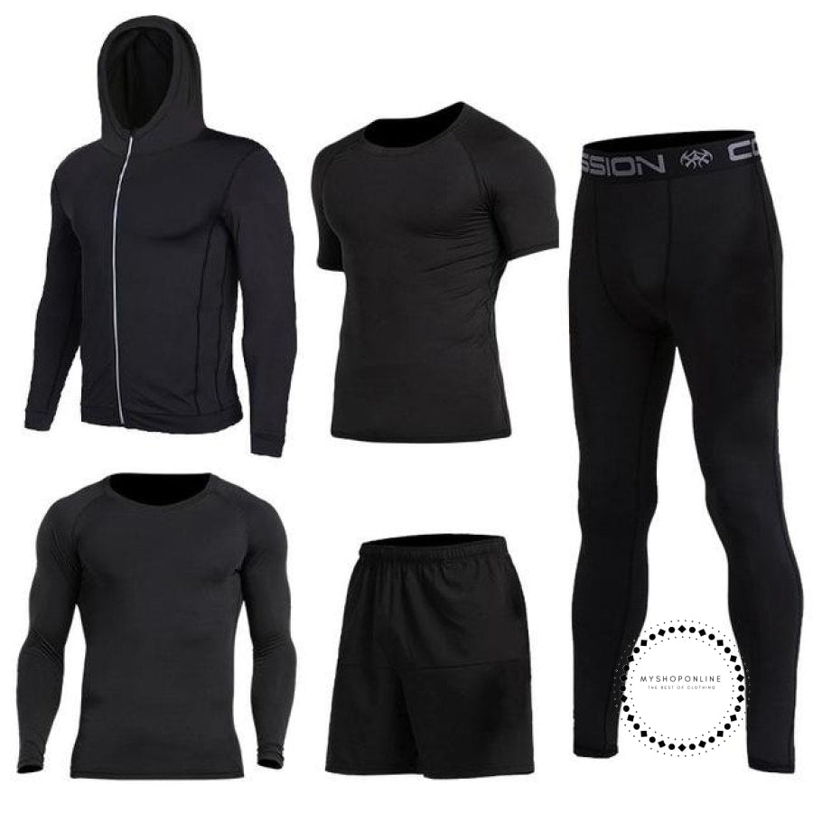 Running Sets Mens Sportswear Gym Clothing 9 / S Accesorios