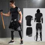 Running Sets Mens Sportswear Gym Clothing Accesorios