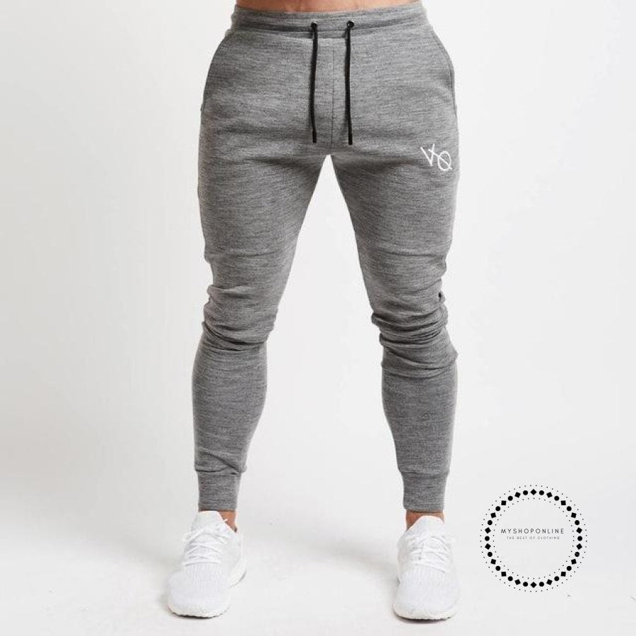 Set Mens Fashion Sportswear Tracksuits Sets Bodybuilding Hoodies+Pants Casual Outwear Suits Gray
