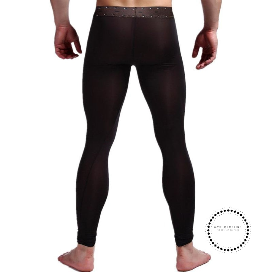 Sexy Men Long Johns Underwear Accesorios