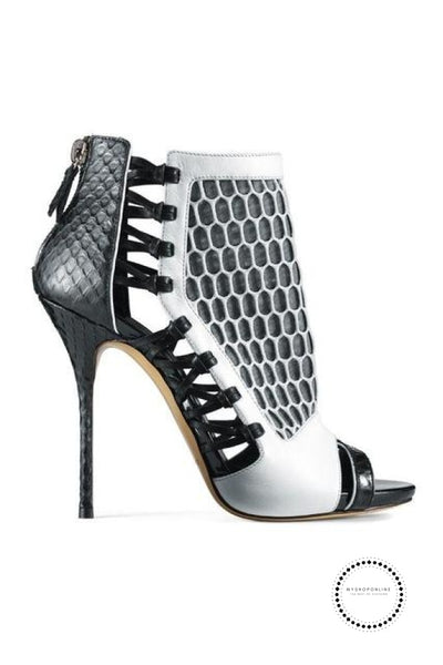 Shoes Women Gray / 4 Accesorios