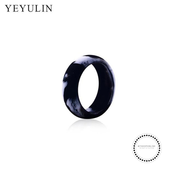 Silicone Ring For Men 9 / Black Accesorios