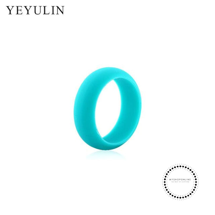 Silicone Ring For Men 9 / Green Accesorios