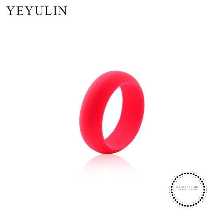 Silicone Ring For Men 9 / Red Accesorios