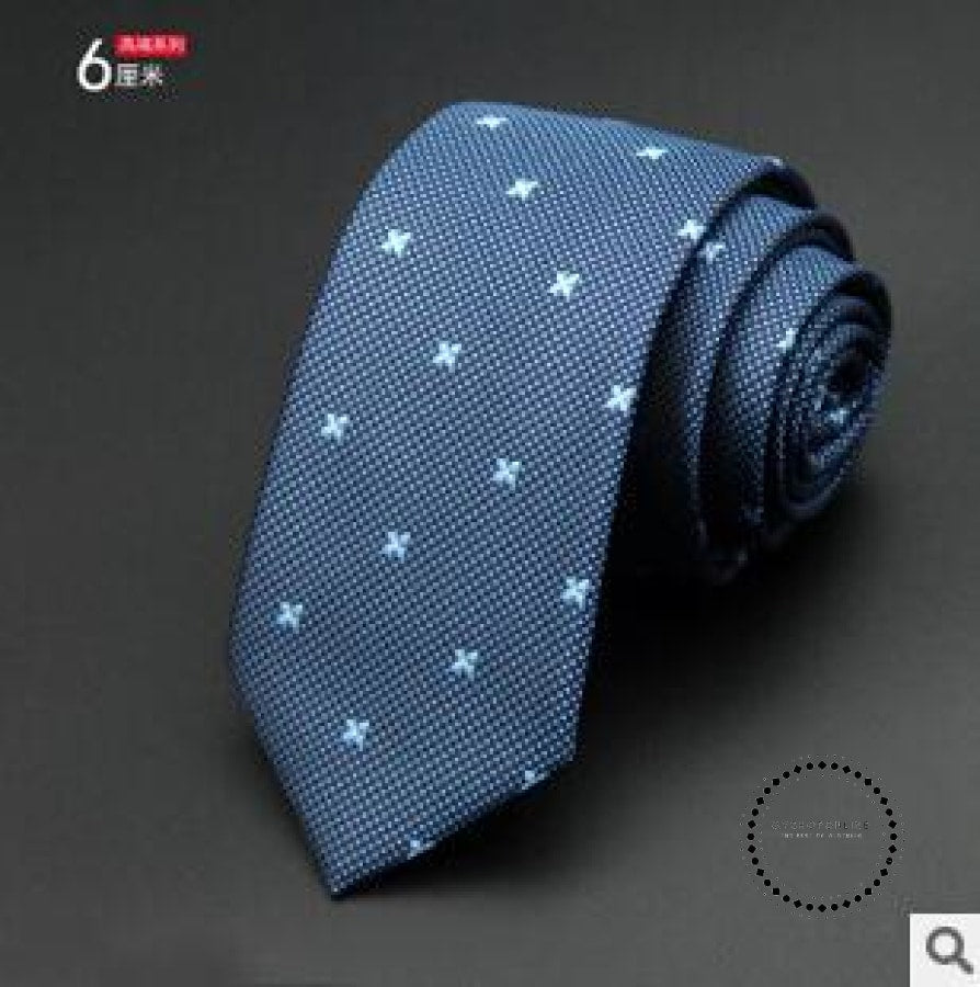 Slim Tie Business For Men 06 Accesorios