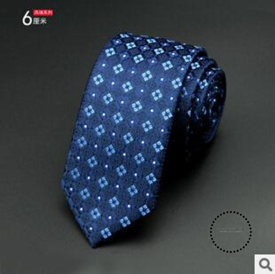 Slim Tie Business For Men 12 Accesorios