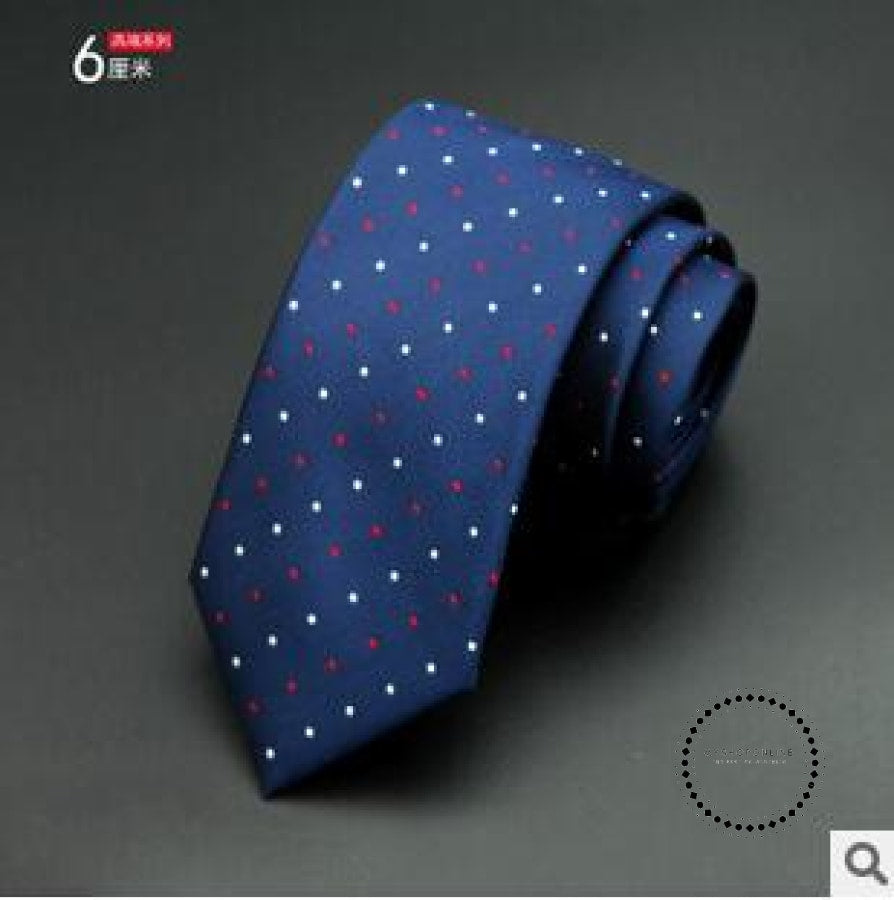 Slim Tie Business For Men 16 Accesorios