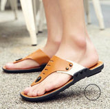 Slippers Men Summer Mens Flip Flops Fashion Casual Beach Shoes Multi / 6