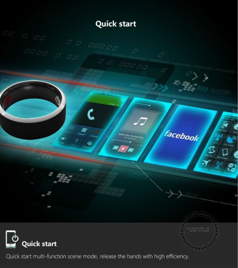 Smart Ring Wear Magic Finger For Android Windows Nfc Mobile Phone Accesorios