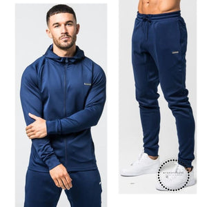 Sporting Suit Men Warm Hooded Tracksuit Track Polo Mens Sweat Suits Set Letter Print Large Size