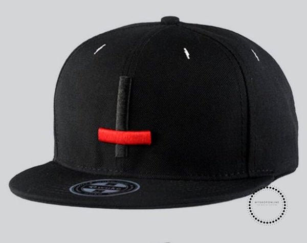 Street Dance Cool Hip Hop Caps Embroidery Cross Snapback Snap Back Baseball Hats Bone Hat Black Red