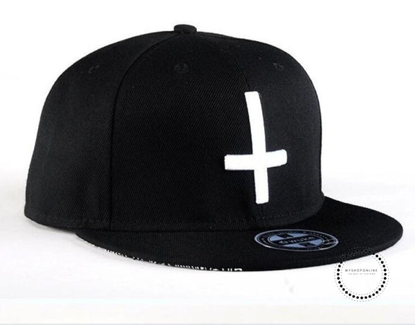 Street Dance Cool Hip Hop Caps Embroidery Cross Snapback Snap Back Baseball Hats Bone Hat