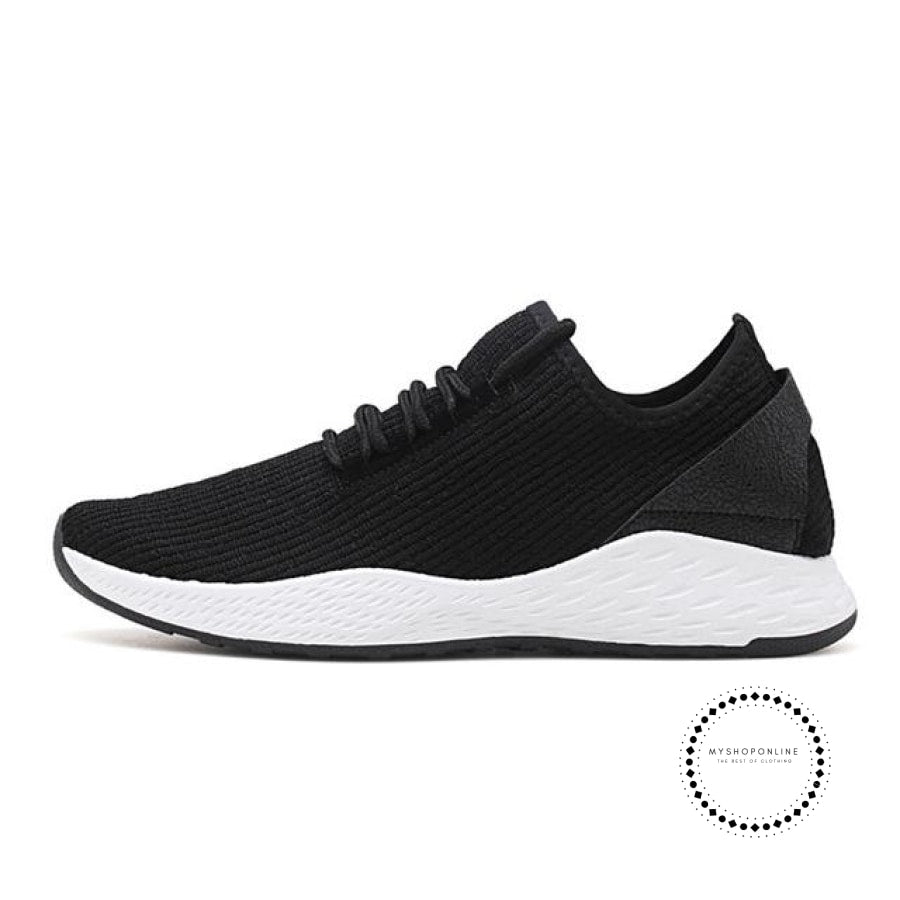 Summer Men Running Shoes Outdoor Jogging Training Sports Sneakers Breathable Mesh For Black K99 /
