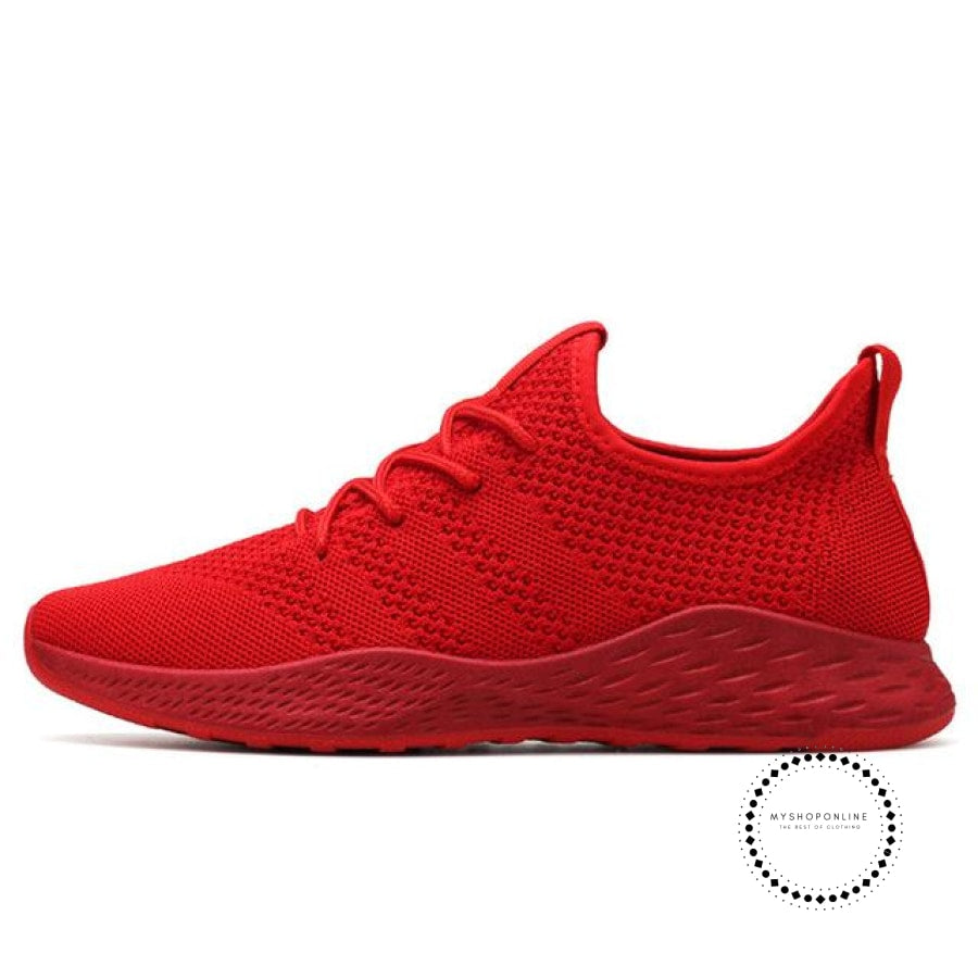 Summer Men Running Shoes Outdoor Jogging Training Sports Sneakers Breathable Mesh For